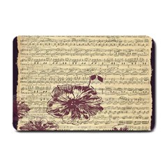 Vintage Music Sheet Song Musical Small Doormat