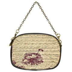 Vintage Music Sheet Song Musical Chain Purses (One Side)