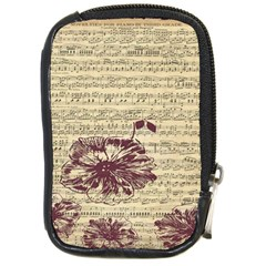 Vintage Music Sheet Song Musical Compact Camera Cases