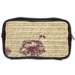 Vintage Music Sheet Song Musical Toiletries Bags 2-Side