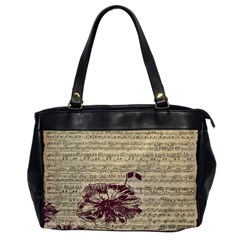 Vintage Music Sheet Song Musical Office Handbags