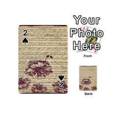 Vintage Music Sheet Song Musical Playing Cards 54 (Mini)