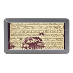 Vintage Music Sheet Song Musical Memory Card Reader (mini)