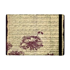 Vintage Music Sheet Song Musical Apple Ipad Mini Flip Case