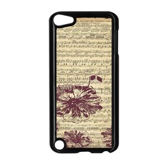 Vintage Music Sheet Song Musical Apple Ipod Touch 5 Case (black)