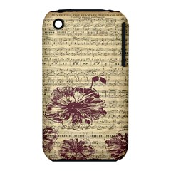 Vintage Music Sheet Song Musical iPhone 3S/3GS