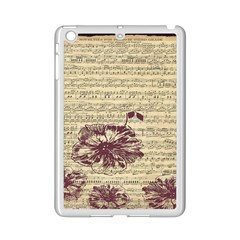 Vintage Music Sheet Song Musical Ipad Mini 2 Enamel Coated Cases