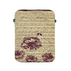 Vintage Music Sheet Song Musical Apple Ipad 2/3/4 Protective Soft Cases