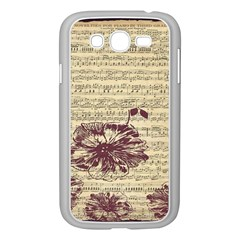 Vintage Music Sheet Song Musical Samsung Galaxy Grand Duos I9082 Case (white)