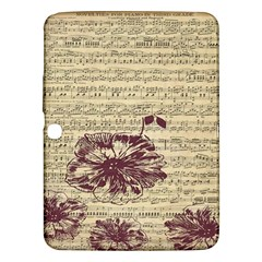 Vintage Music Sheet Song Musical Samsung Galaxy Tab 3 (10 1 ) P5200 Hardshell Case