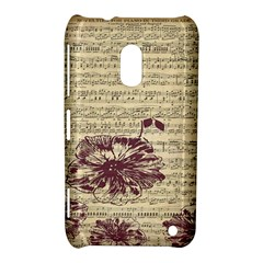 Vintage Music Sheet Song Musical Nokia Lumia 620