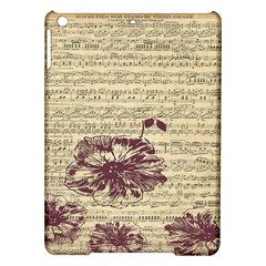 Vintage Music Sheet Song Musical iPad Air Hardshell Cases