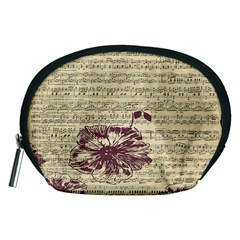 Vintage Music Sheet Song Musical Accessory Pouches (medium)
