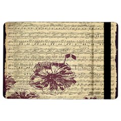 Vintage Music Sheet Song Musical Ipad Air 2 Flip