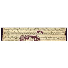 Vintage Music Sheet Song Musical Flano Scarf (Small)
