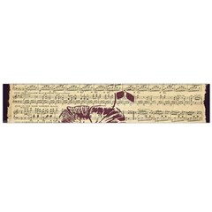 Vintage Music Sheet Song Musical Flano Scarf (large)