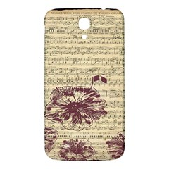 Vintage Music Sheet Song Musical Samsung Galaxy Mega I9200 Hardshell Back Case