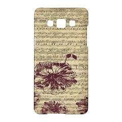 Vintage Music Sheet Song Musical Samsung Galaxy A5 Hardshell Case