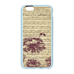 Vintage Music Sheet Song Musical Apple Seamless iPhone 6/6S Case (Color)