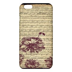 Vintage Music Sheet Song Musical iPhone 6 Plus/6S Plus TPU Case
