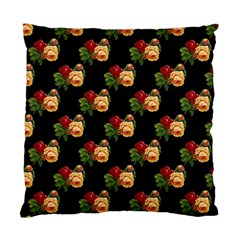 Vintage Roses Wallpaper Pattern Standard Cushion Case (Two Sides)