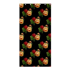 Vintage Roses Wallpaper Pattern Shower Curtain 36  x 72  (Stall)