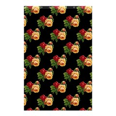 Vintage Roses Wallpaper Pattern Shower Curtain 48  x 72  (Small)