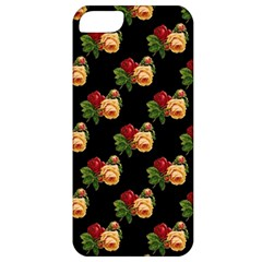 Vintage Roses Wallpaper Pattern Apple Iphone 5 Classic Hardshell Case