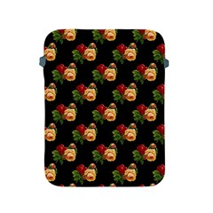 Vintage Roses Wallpaper Pattern Apple Ipad 2/3/4 Protective Soft Cases