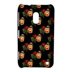 Vintage Roses Wallpaper Pattern Nokia Lumia 620