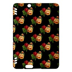 Vintage Roses Wallpaper Pattern Kindle Fire HDX Hardshell Case