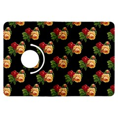Vintage Roses Wallpaper Pattern Kindle Fire Hdx Flip 360 Case