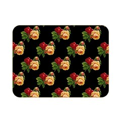 Vintage Roses Wallpaper Pattern Double Sided Flano Blanket (Mini)
