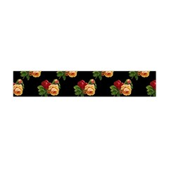 Vintage Roses Wallpaper Pattern Flano Scarf (mini)