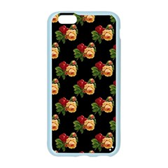 Vintage Roses Wallpaper Pattern Apple Seamless iPhone 6/6S Case (Color)