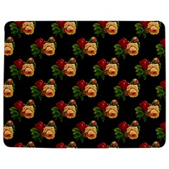 Vintage Roses Wallpaper Pattern Jigsaw Puzzle Photo Stand (Rectangular)