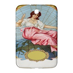 Vintage Art Collage Lady Fabrics Samsung Galaxy Note 8 0 N5100 Hardshell Case