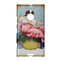 Vintage Art Collage Lady Fabrics Nokia Lumia 1520