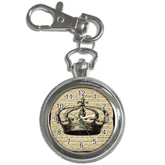 Vintage Music Sheet Crown Song Key Chain Watches