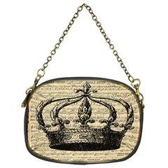 Vintage Music Sheet Crown Song Chain Purses (one Side)
