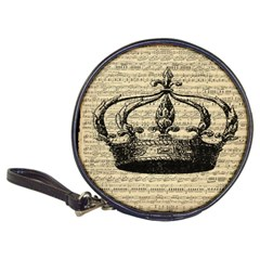 Vintage Music Sheet Crown Song Classic 20-CD Wallets