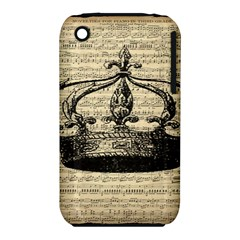 Vintage Music Sheet Crown Song Iphone 3s/3gs