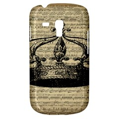 Vintage Music Sheet Crown Song Galaxy S3 Mini