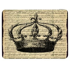Vintage Music Sheet Crown Song Samsung Galaxy Tab 7  P1000 Flip Case