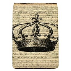 Vintage Music Sheet Crown Song Flap Covers (l)