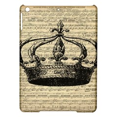 Vintage Music Sheet Crown Song Ipad Air Hardshell Cases