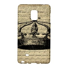 Vintage Music Sheet Crown Song Galaxy Note Edge