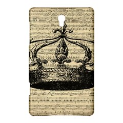 Vintage Music Sheet Crown Song Samsung Galaxy Tab S (8 4 ) Hardshell Case