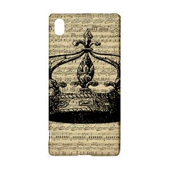 Vintage Music Sheet Crown Song Sony Xperia Z3+