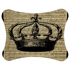 Vintage Music Sheet Crown Song Jigsaw Puzzle Photo Stand (Bow)